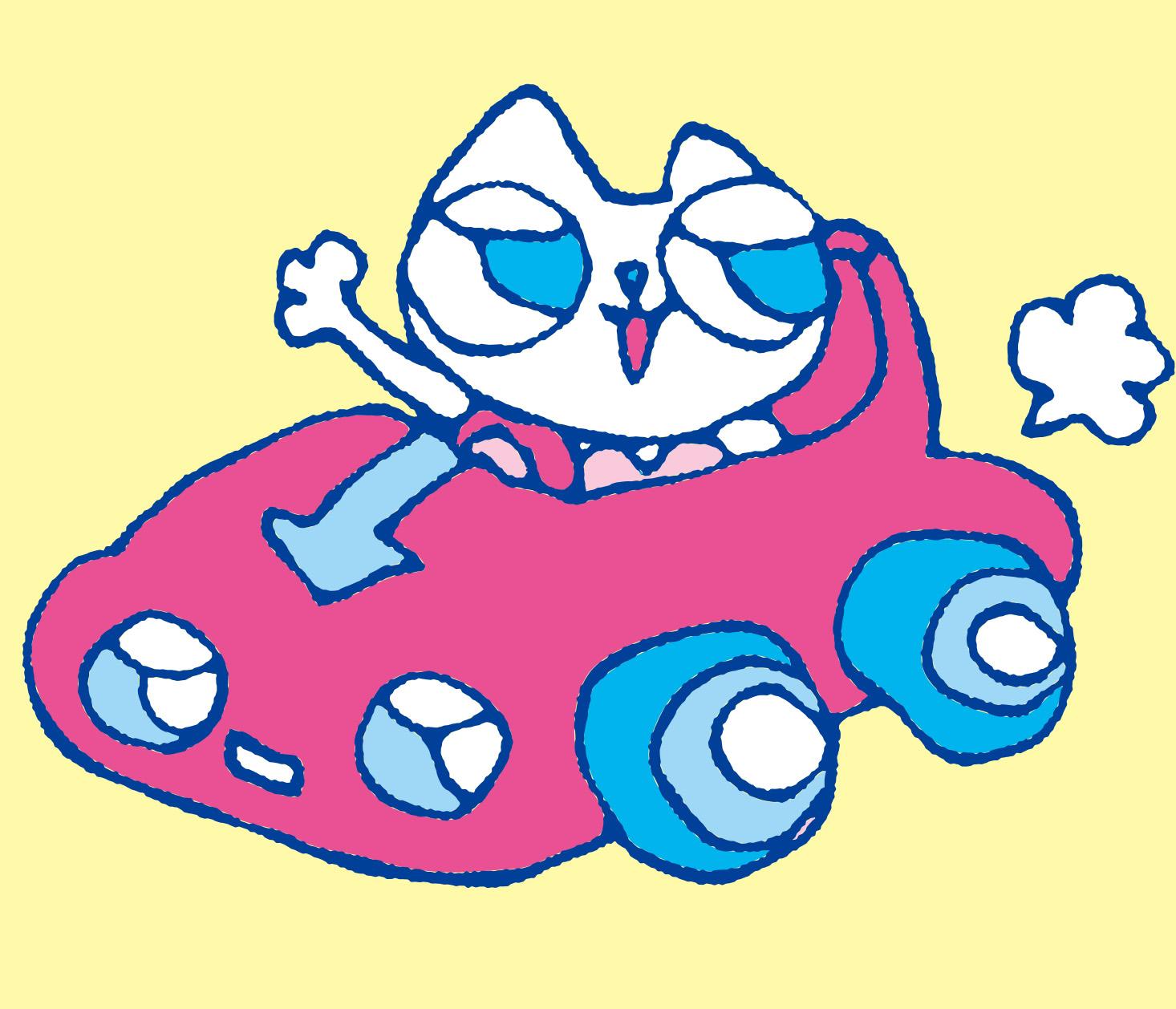 夢の絵を描いたネコ | 麻布アトリエマスコットキャラクター | 松田光一の絵本